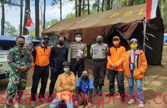 Tim Gabungan Temukan 3 Pendaki Gunung Bawakaraeng yang Dikabarkan Hilang